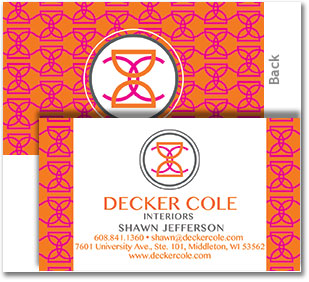 business card design, oconomowoc graphic desinger
