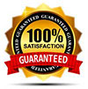 100% satisfaction guarantee on all of Linda's design work