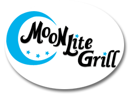 oconomowoc logo design for Moon Lite Grill