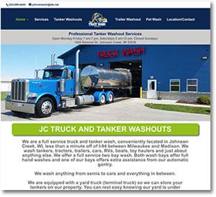 Johnson creek web design by goehre creative designer Linda Goehre