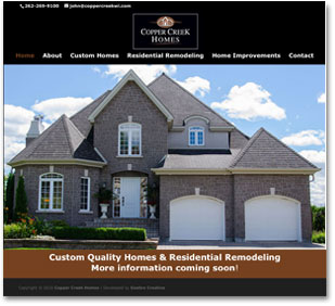 Construction Oconomowoc Website Design
