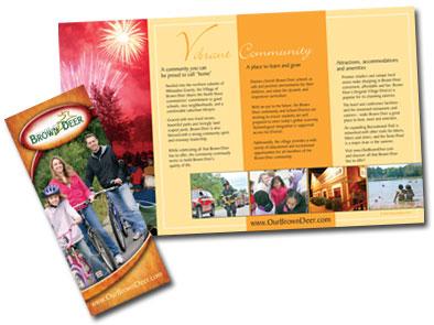 brochure design by linda goehre creative design in Oconomowoc wi