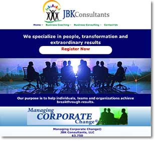 oconomowoc web design for JBK Consultants