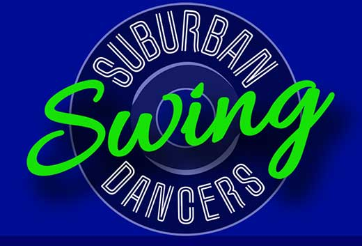 Goehre Creative logo design for Suburban Swing Dancers